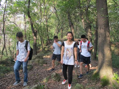A short hike–Climbing the Luojia mountain